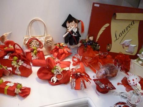 Bomboniere per festa di Laurea : negozio a Roma