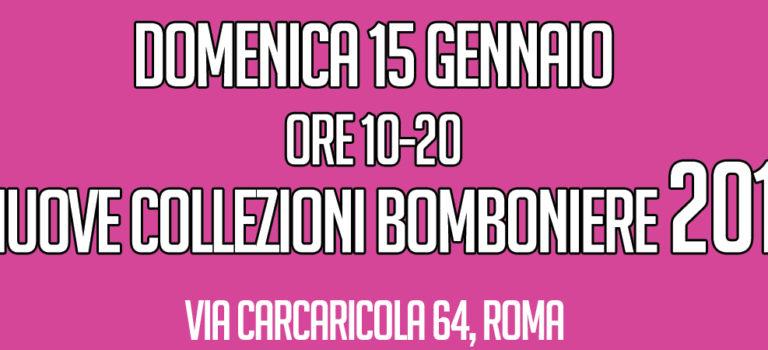 Nuove Collezioni di Bomboniere 2017 in Negozio!